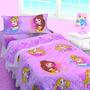 Sabanas Princesas Disney Sofia Monster High Infantil Piñata