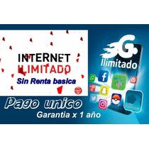 Internet Ilimitado 3g 4g Gsm