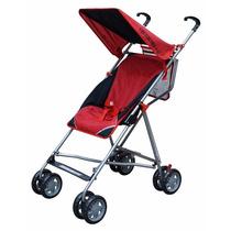 Carrinho De Bebe Bebelove Single Umbrella Stroller Vermelho