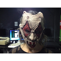 Mascara Latex Terror Halloween Cosplay-envio Gratis