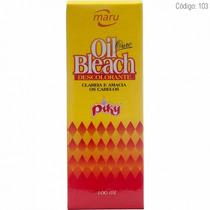 Oil Bleach Maru Descolorante Ouro Piky 100ml