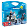 Playmobil City Action Policia Motorizada Y Ladron Art. 5891