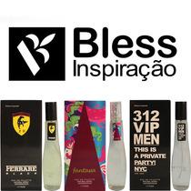 Kit 80 Perfumes 55ml Legalizado C/ Registro Anvisa E Nota F/