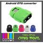 Otg Adaptador Usb Telefeno Android Mouse Teclado