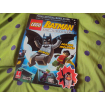 Lego Batman Official Guide (guia Oficial)