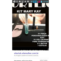 Kit Estojo+pinça+baton+gel Mary Kay