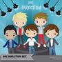 Kit Imprimible One Direction Set - 15 Imag Png Ver Promo