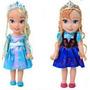 Princesa Elsa Frozen Rapunzel Toddler 33 Cm Disney