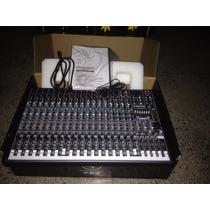 Consola Mackie Profx 22 Con Efectos Y Interface