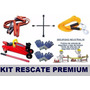Kit De Rescate 6 En 1 Crique+llave Cruz+sling+cablepuent+gua