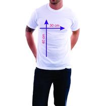 Camisetas Personalizadas Logo Para Empresa Frente/verso A3