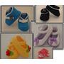 Sapatinho De Crochê Para Bebê De 3 A 6 Meses Varios Modelos