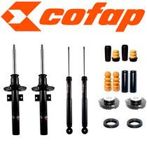 Kit 4 Amortecedores Crossfox + Kits + Coxim - Cofap