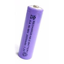 Pila Bateria Aa Recargable 3000 Mha Telefono Juguetes