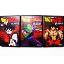 Dragon Ball Z Volumen 1 2 3 Saga De Vegeta - 3 Dvd Latino
