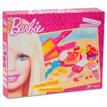 Barbie Massinha De Modelar Sorveteria Divertida E Acessórios