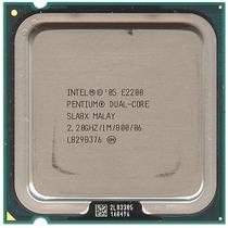 Processador Intel Dual Core E2200 2.2ghz / 1m / 800