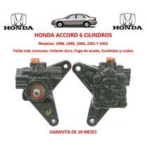 Bomba Licuadora Direccion Hidraulica Honda Accord 6cyl 1998
