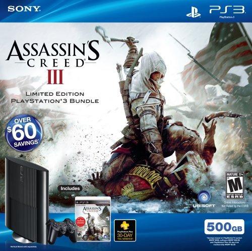 Playstation 3 500gb Assassin Creed Iii Bundle - $ 1.503.200 en Mercado Libre
