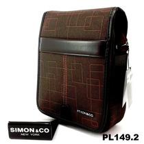 Bolsa Mariconera Pequeña Marca Simon & Co Pl149