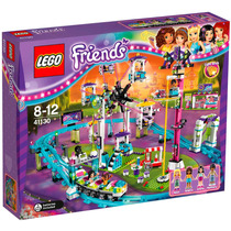Lego Friends 41130 Parque De Diversões, Montanha Russa, Novo