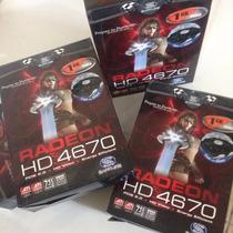Nova - Placa De Video Radeon Hd 4670 Sapphire 1gb Ddr3 Nova