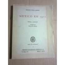 Libro Dibujos Caricaturas México En 1911 Hilario Luna 1967