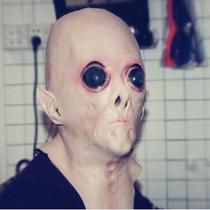 Máscara De Et Realista Em Latéx Cabeça Engraçado Ovni Alien