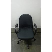 Cadeira Escritório Giratória Estofada Diretor - Giroflex
