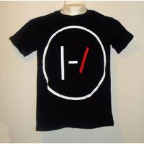 Playera Camiseta 21 Pilots Logo Negra Rock Alternativo Music