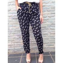 Bellos Pantalones De Vestir Tela Rayon Estampados Para Dama