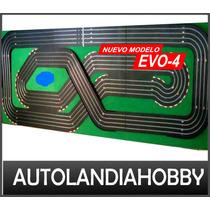 Pista Autos Scalextric 4 Vias 24m Completa Equipo Super Pro!