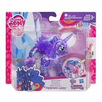 My Little Pony Princesa Luna Original Transparente Con Luz