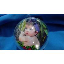 Bola De Natal Acrílica Personalizada 6cm