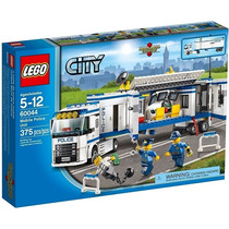 Brinquedo Novo Lego City Polícia Com 375 Pçs Ref: 60044
