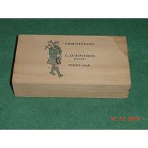 * Caixa De Madeira Do Sabonete Brighton - P/colecionador *