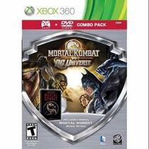 Mortal Kombat Vs Dc Universe   Xbox 360   Envio Gratis