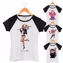 Roupas Kit 10 Blusas Atacado Tshirt Femininas Alerquina Swag