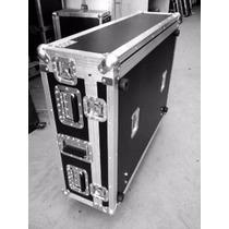 Case Para Behringer X32 C/ Cablebox 2 Tampas E Rodas