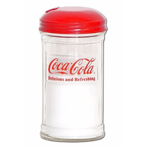 Azucarera De Vidrio De Coca Cola Coleccionable Porta Azucar