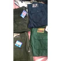 Pantalones Camuflados Tipo Cargo J.c. - Nuevos Azules