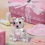 Recordatorios Osito De Cristal Baby Shower Bautizo Cumpleaño