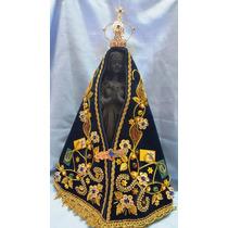Escultura Imagem Nossa Senhora Aparecida 30cm Resina