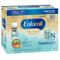 Fórmula Enfamil Bebé Recién Nacido - 2 Fl Oz De Plástico Nur