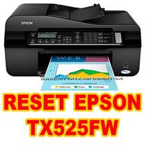 Reset Epson Tx525fw (contador-almofadas) Ilimitado