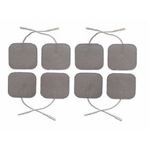 8 Pzas Electrodos Para Tens Ems 5x5cm Cuadrado O Redondo