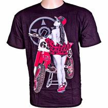 Camiseta Unit Diamond - Preta - Mx Parts