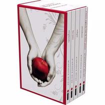 Coleção Box Saga Crepúsculo 5 Livros - Stephenie Meyer