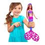 Barbie Sirena · Hace Burbujas Con Su Cola · Mattel · Croak