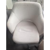 Poltronas Cadeiras Giratórias Rodinha. Forro Precisa Reforma